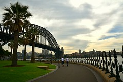 A stroll by the harbour. 119/366 (jenniferdudley) Tags: sydney australia sydneyharbour sydneyharbourbridge sydneyaustralia day119366 366the2016edition 3662016 28apr16