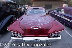 azealia1-4240 (tweaked.pixels) Tags: red chevrolet maroon style 1958 impala airbrush southgate rollin pinstriping azealiafestival tweedymilegolfcourse