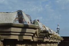 Park Guell, Barcelona (R0nnNL) Tags: barcelona park symmetry gaudi