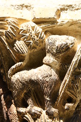 Cathédrale partiellement romane Saint-Lizier (kristobalite) Tags: eve en adam la globe nef christ roman daniel du cathédrale gloire corniche lions visitation sure » monde et aux fosse dans romans colonne clocher « abside romane voûte chevet cloître chapiteau romanesqueart transept romanisch colonnette mages romanik romanes apôtres fresques romanesquearchitecture arteromanica saintlizier artroman majesté architetturaromanica annonciation absidiole croisée toulousain clairevoie arcature modillons architectureromane engagée evangélistes romanischearchitektur prismatique romanischekunst arquitecturaromanica trilobée doubleau d'ogives