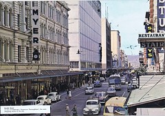 Rundle Street early 1960's (Runabout63) Tags: street south australia adelaide rundle