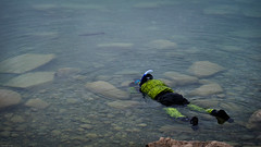Trout Capture (john.c.arnold) Tags: lake photography fishing montana underwater clayton pat willow trout drysuit