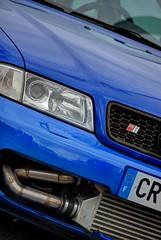 Audi S4 (1st-gen) (Fido_le_muet) Tags: cars coffee saint st parking b5 audi tours exposed intercooler s4 auchan rrc cyr rrct
