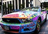 Psychedelic stang IMG_2286-1 (matwith1Tphotography) Tags: canon houston tamron artcarparade downtonhouston 18270mm