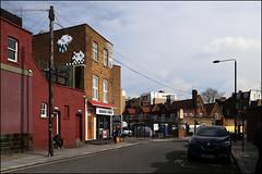 Invader (Alex Ellison) Tags: urban streetart london boobs camden mosaic spaceinvader invader camdentown ceramictile