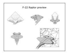 F-22 Raptor diagram preview (Mdanger217) Tags: max danger origami raptor f22 inkscape