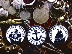 AhoY there! (rainbowbadgesonline) Tags: rainbow treasure pirates badges crossbones ahoy