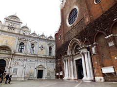 The clash of the styles (Mon Cabinet de Curiosits - Izzy) Tags: venice church grande san paolo e di marco santi venise venezia giovanni scuola nylonbleu