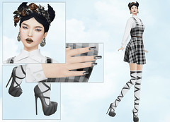 FIFTY LINDEN FRIDAY (Rehana MiSS SLVietnam, Face of CHOP ZUEY 2015) Tags: fashion blues secondlife nyu friday laboheme rehana jadore tabou maitreya slink fiftylindenfriday chopzuey zibska rehanaseljan
