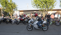 Duc (B Shree B) Tags: seattle sunset cafe motorcycle ballard racers backfire