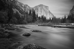 013_1157:  Merced River (Shawn-Yang) Tags: california park white black national yosemite mercedriver
