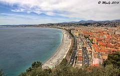 Nice (Maurizio Longinotti) Tags: panorama seascape france landscape nice cotedazur francia nizza costaazzurra marmediterraneo alpimarittime