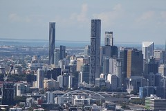 Brisbane central business district, seen from Mt Coot-Tha (tanetahi) Tags: cityscape view australia brisbane lookout queensland belvedere cbd urbanlandscape mountcoottha