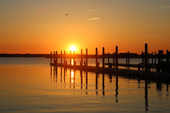 Reflections (Yuri Dedulin) Tags: ri travel vacation yuridedulin newport port water sky landscape nature beautiful scene reflections rhodeisland daarklands weekend romantic orange waterline enjoy
