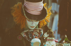 A mad tea party (cuppyuppycake) Tags: party england london costume nikon tea alice cupcake mad wonderland hatter d7200