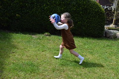 Hand ball ref! (pwllgwyngyll) Tags: old boy liverpool ball football goal hand year ten supporter strike welsh practice footy striker jac anfield lfc ref liverpoolfc at