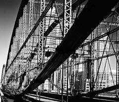 Smithfield Street Bridge, 1881 (R.A. Killmer) Tags: bridge light shadow usa architecture contrast pittsburgh pennsylvania steel engineering shades structure fade smithfield 1881
