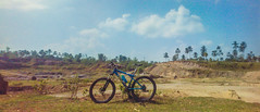 Quarry (aljar3d) Tags: road trees sky mountain nature bike clouds climb cross earth country philippines off downhill mount trail dh biking granada mtb xc bacolod ph quarry hardtail mandalagan alangilan