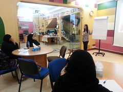 """ورشة """"طرق الالقاء الجيد"""" (bahrainwa) Tags: البحرين العب فكر تعلم الابداع الالقاء جمعيةالبحرينالنسائية"""