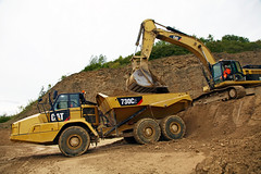 Cat 730C2 (finningnews) Tags: construction kingdom preview hillhead finning sitech imagesunited