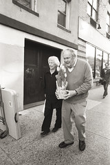 AA010 2 (heavyasmountains) Tags: nyc newyorkcity blackandwhite slr film 35mm photography nikon candid streetphotography noflash 24mm fm3a filmphotography streetstyle