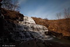 Morning at Albion Falls (awaketoadream) Tags: blue winter sky ontario canada water waterfall long exposure hamilton niagara falls southern february albion escarpment