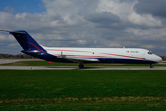 N327US (USA Jet) (Steelhead 2010) Tags: cargo dc9 mcdonnelldouglas dc930 yhm dc930f usajet nreg n327us