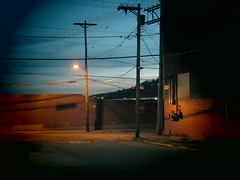 Would Meeting Them Here Be a Mistake? (david grim) Tags: night alley pittsburgh pennsylvania streetphotography pa eastend ninthward alleghenycounty lawrencville