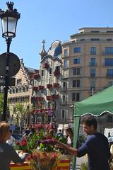 Paseo de Gracia - Casa Batll (sonjatl00) Tags: barcelona gaudi gracia batllo
