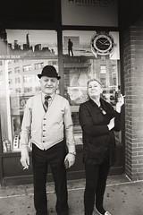 AA027 2 (heavyasmountains) Tags: nyc newyorkcity blackandwhite slr film 35mm photography nikon candid streetphotography noflash 24mm fm3a filmphotography streetstyle