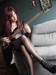2016.03-20 (SamyOliver) Tags: brazil oliver dress bass redhead tranny transvestite samantha crossdresser crossdress samy transformista samanthaoliver samycd samyoliver