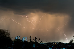 A bit of weather we're having. (Owen Llewellyn) Tags: sky storm rain weather canon skyscape stormy electricity l 5d lightning southlondon f28 rainfall brixton 2470 5dmkiii owenllewellyn cygnusimaging