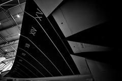 Concorde Test Wing (Miles From Nowhere Photography) Tags: blackandwhite bw monochrome plane mono blackwhite concorde duxford