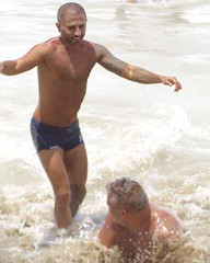 IMG_1170 (danimaniacs) Tags: shirtless hairy man hot sexy guy beach beard trunks speedo swimsuit stud scruff