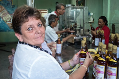 Labeling the Rum Bottle - Pinar del Rio, Cuba (BlueVoter - thanks for 1.3M views) Tags: factory label cuba rum pinardelrio