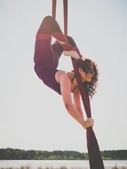 Anything is possible (Vincent-F-Tsai) Tags: girl yoga pose back artistic bend aerial stretch panasonic flex fitness fit gymnastic acrobatic silks yogapants lumixg7 sigma30mmf14dcdn