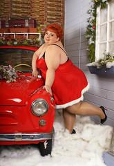 IMG_4537 (sergekondor) Tags: christmas red car bbw retro