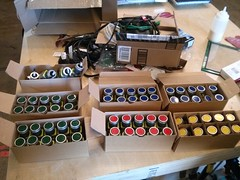 Sixty switches, y'all (RobotSkirts) Tags: switch controls button pushbutton automation 22mm