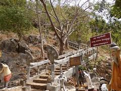 kampot (mrcharly) Tags: temple pagoda asia cambodia hill steps caves kampot cambodja kampuchea phnomchisor