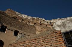 Colosseo - Roma (nebulous 1) Tags: italy rome building up architecture nikon italia pov colosseum walls colosseoroma nebulous1