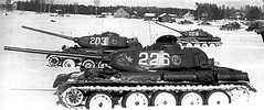 T-44 tanks (Bro Pancerna) Tags: tank soviet medium t44