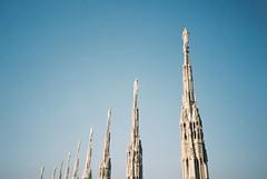 Milan (cranjam) Tags: italy milan film architecture lomo lca lomography italia cathedral spires milano duomo agfa architettura duomodimilano gothicrevival guglie milancathedral neogotico vista200