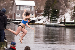 2016 Herring Cove Polar Bear Dip (Iguanasan) Tags: winter people woman man water harbor jump dock harbour cove newyear celebration wharf jumpers newyearsday herringcove herringcovepolarbeardip2016
