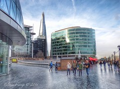 Londons Calling (Belinda Fewings (3 million views. Thank You)) Tags: street city uk people colour london tourism beautiful beauty architecture buildings reflections out outside outdoors grey seaside december cityscape arty artistic bokeh creative christmasmarket colourful lovely the theborough beautify theshard panasoniclumixdmc pbwa creativeartphotograhy belindafewings