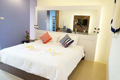 โรงแรมราคาประหยัด ใกล้เกาะเกร็ด นนทบุรี(ห้องพักหลักร้อย)
