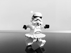 Tutu Trooper ! (Tony DZ) Tags: ballet white storm trooper black toy death star blackwhite starwars noir lego fig 15 stormtrooper wars minifig figurine blanc serie tutu noirblanc minifigures lifeonthedeathstar lifeondeathstar