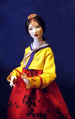 korean princess (JRDolls) Tags: art asia doll bisque craft korea bjd artdoll porcelain arttoy        jrdolls
