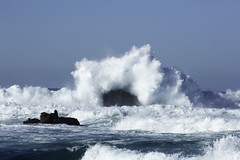 Limits (merlinjphoto) Tags: ocean california wild beach beautiful beauty coast monterey waves afternoon power pacific grove salty pacificgrove swell