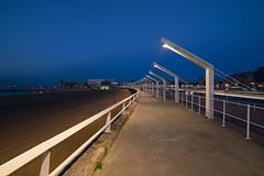 Playa de Poniente (Gijn) (CarlosConde/Photography) Tags: gijn asturias playa nocturna poniente balneario talasoponiente
