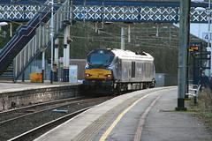 ScotRail 68006 (Daring) @ Kidsgrove (uksean13) Tags: light station train canon rail railway loco scotrail locomotive daring ef28135mmf3556isusm kidsgrove 400d 68006